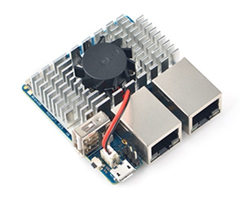 NanoPi r2s Heatsink with Fan