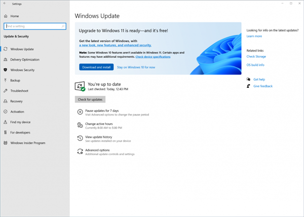 The official version of Windows 11 is pushed now!